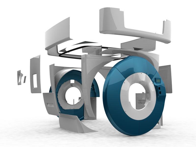 Modélisation 3D - pièces de formes complexes