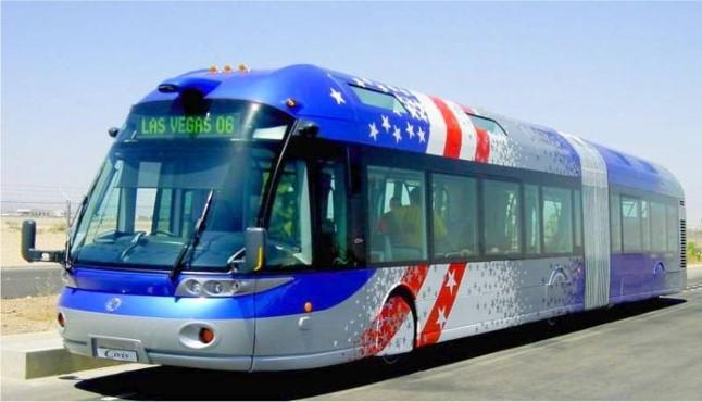 Americanization IRISBUS BRT Las Vegas