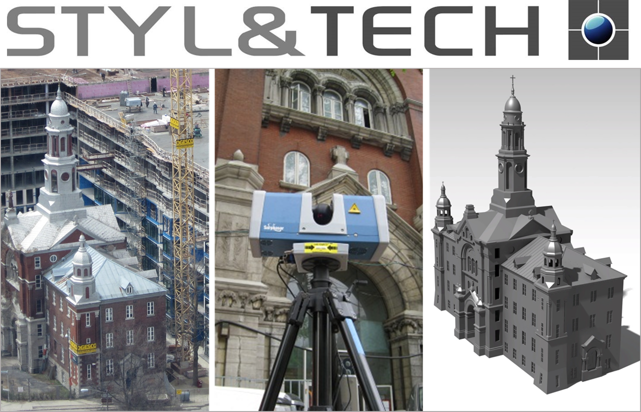 3D Scanning Services | Reverse Engineering   Historic Architecture