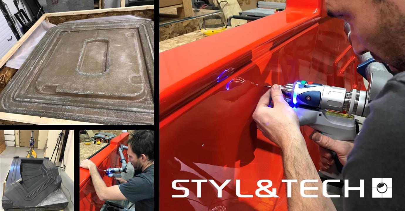 Fibre de verre – Design et fabrication d'outillages