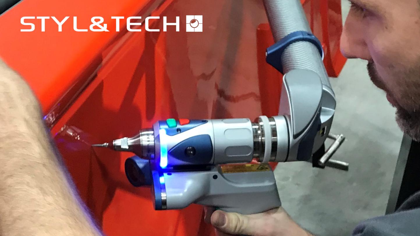 STYL&TECH acquiert un nouvel équipement. Le FARO 3D Edge ScanArm