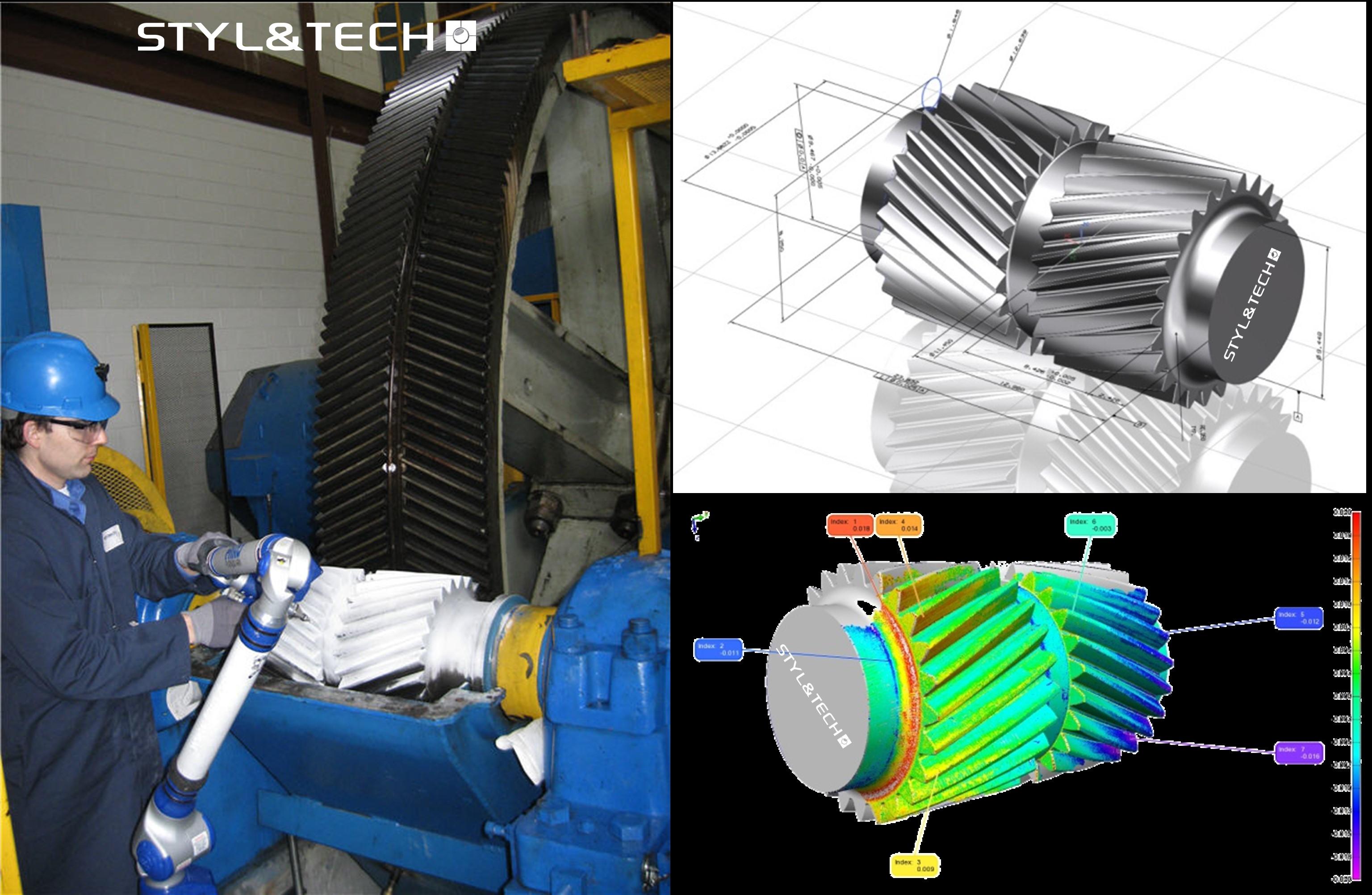 Numérisation 3D  | Rétro-Ingénierie