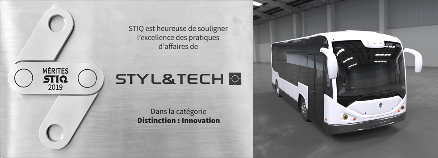 """STYL&TECH recognized for its innovation at the """"Gala Mérites STIQ 2019"""""""