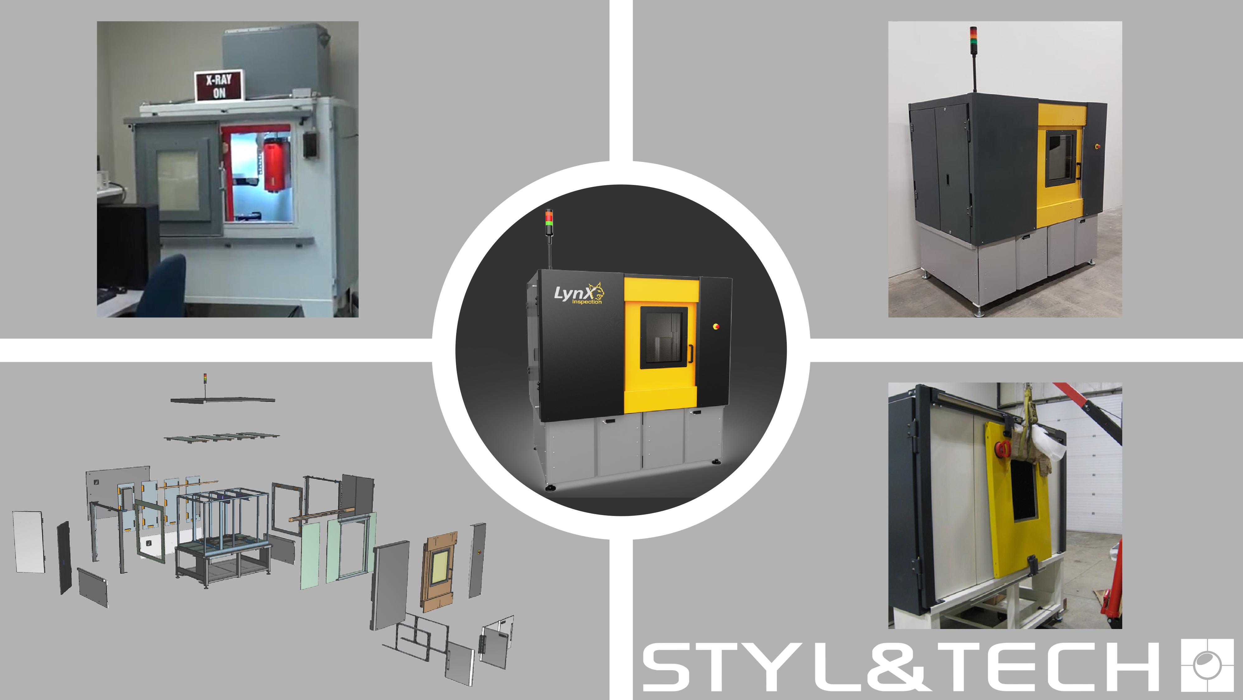 STYL&TECH et LynX Inspection s'unissent afin de rendre leur produit prêt pour le marché.